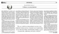 """El Día – Domingo 5 de diciembre de 2010 – Página 23 - """"Cultura y reconocimiento"""""""