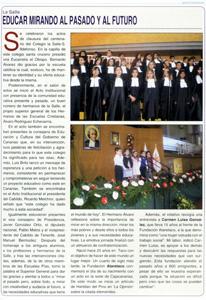 """Revista """"Iglesia Nivariense"""" - Enero de 2011 - Página 9 """"Educar mirando al pasado y al futuro"""""""