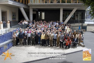 Foto de grupo del Día del Antiguo Alumno