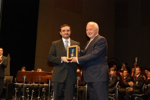 Acto entrega medalla de Oro de la Isla, 26 de noviembre de 2010