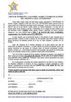 "Circukar informativa ""Romería San Ildefonso"""