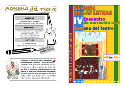 Folleto de la Semana de las Letras 2011