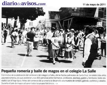 Diario de Avisos – Miércoles, 11 de mayo de 2011 – Página 8