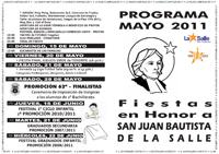 Programa de las Fiestas 2011