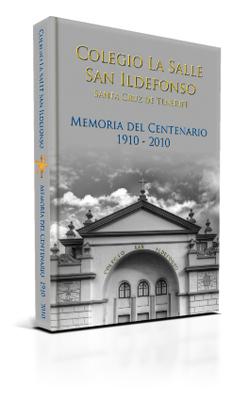 Portada de la Memoria del Centenario 1910 - 2010